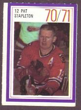 1970-71 Esso Hockey Stamp Pat Stapleton Black Hawks