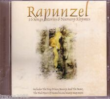 Rapunzel Songs Stories Nursery Rhymes CD Greatest Collection Childrens Hits Rare