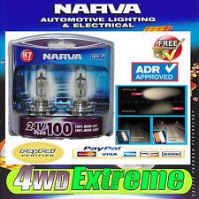 NARVA H7 24V 70W PLUS 100 TRUCK GLOBES 48730BL2 LIGHTS HEADLIGHTS UPGRADE BULBS