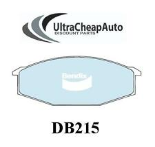 BRAKE PADS FRONT - NISSAN 260C, 280C, 280ZX, FAIRLADY Z & CROWN, BENDIX #DB215