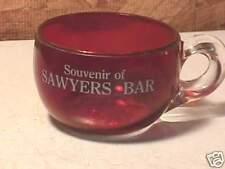 Souvenir Ruby Flash Cup Sawyers Bar, Calif.-Del Norte