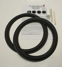 """Foam Surround Repair Kit For Infinity 12"""" Speakers"""