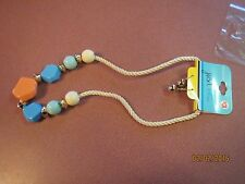 Cord With Bonus Earrings For Spring Nip Fun Multi-Color Beads Necklace On