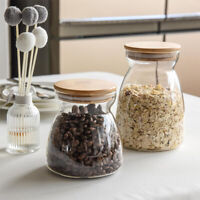 Vorratsdosen Vorratsglas Glasbehälter Glas Behälter Dose mit Deckel 1100ml 700ml