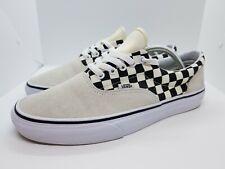 Vans Era Primary Checkerboard Marshmallow Off White Black Men's Size 10 Skater