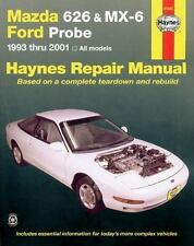 Haynes Manuals: Mazda 626 and MX-6, 1993-2001 by Haynes, John Haynes and Jay St…
