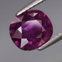 2.40Ct.Beautiful Color! Hot Pink Purple Normal Heated Sapphire Madagascar