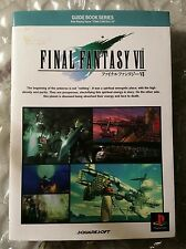 Guide Book Serie Final Fantasy VII 7 Digicube Squaresoft Playstation 1