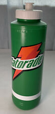Vintage Gatorade Green Water Bottle Squeeze Property Of Retro 90s Squirt Drink