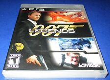007 Legends Sony PlayStation 3 *Factory Sealed! *Free Shipping!