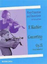 Easy Concertos and Concertinos für Violin and Piano F. Küchler Op.15