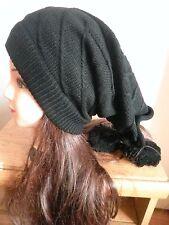 US SHIP Women knit Baggy Beanie Oversize Winter Hat Ski Slouchy Chic Cap Skull