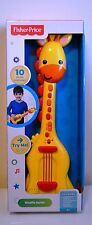 Fisher Price Giraffe Guitar Music Set NIB
