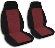 Two Tone Bucket Seat Covers with 2 Armrest Covers for 92-94 GMC & Chevy Trucks