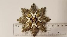 Norway. St. Olaf Order,  breast star. 100% original.