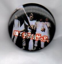 MY CHEMICAL ROMANCE BUTTON BADGE AMERICAN ROCK BAND GROUP Famous Last Words 25mm