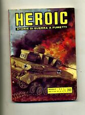 HEROIC # STORIE DI GUERRA A FUMETTI # N.2 Febbraio 1973 # Edizioni Alhambra