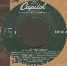 NAT KING COLE - Around The World - Capitol - EAP 1-813 - Ita