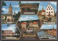 Alte Postkarte - Karlstadt - Historische Stadt im weinfrohen Maintal