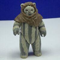 Star Wars action figure toy vintage Kenner 1984 Ewok Teebo gray endor rotj Hood