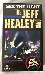 VHS - The Jeff Healey Band -  See The Light - Live From London - PG 1989