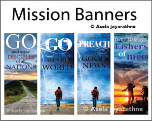 Mission Banners - Church banners