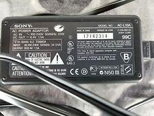 Vtg Genuine Sony OEM AC-L10A/B/C AC-L15A AC-L15B AC-L100/A AC Adapter