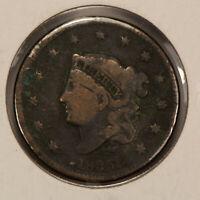 1835 1c Coronet Head Large Cent SKU-Y2508