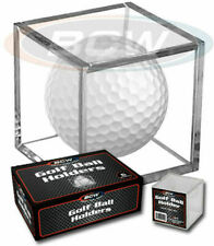 New Golf Ball Display Cubes 6 pack / Acrylic - For collectible Ping Nike etc!