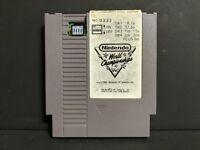 1990 Nintendo World Championships Gray NES Cart Number 333 RARE Authentic