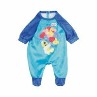 Zapf Creation Baby Born Doll Dolls Romper Outfit For 39-43cm Dolls - Blue