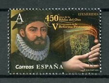 Spain 2019 MNH Bear Bible Biblia del Oso Reformation 1v Set Religion Stamps