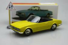 yellow Dinky toys 1:43 Atlas1423 Cabriolet 504 Peugeot Alloy car model Roadster