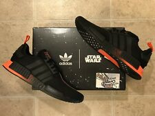Adidas NMD R1 Star Wars Darth Vader Core Black Red Running Ultra Boost FW2282