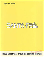 2002 SANTA FE MANUAL HYUNDAI SANTAFE SHOP ELECTRICAL 02 SERVICE REPAIR DIAGRAMS