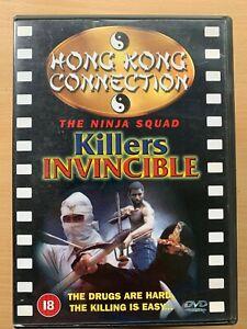 Killers Invincible DVD aka THE NINJA SQUAD ~ 1984 Hong Kong Martial Arts Film