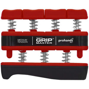 Gripmaster Hand Exerciser - Medium (Red)