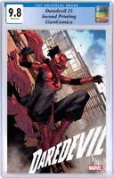 Daredevil #25 CGC 9.8 Marvel 2021. Checchetto Second Printing PRE-ORDER 01/20/21
