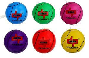 DP PERRINI TETHER BALL OFFICIAL SIZE OUTDOOR PLAY 6 COLORS WITH ROPE INCLUDED