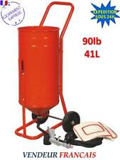 SABLEUSE MOBILE SUR ROULETTES 90lb 41L