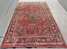 Antique Persian Oriental Room Size Rug / Carpet 6.4 x 10.7 Great Buy_Old Rug