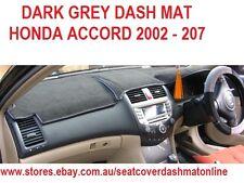 DASH MAT, DASHMAT, DASHBOARD COVER FIT  HONDA ACCORD 2002-2007,  DARK GREY