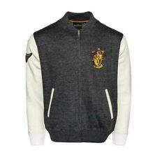 Unisex Harry Potter Gryffindor Crest Aplicación Bordado Cremallera Universitaria