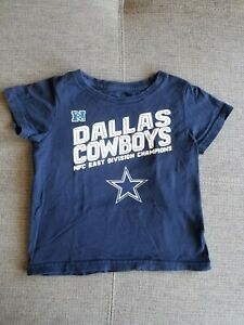 Dallas Cowboys Toddler NFC East Division Champions Shirt Size 3T