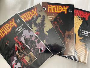 Hellboy Conqueror Worm #1-#4 Complete Set Dark Horse Comics Mike Mignola