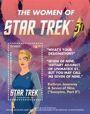 Tuvalu - 2015 Women Of Star Trek, Kathryn Janeway S/S