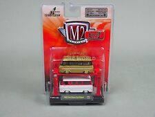 1/64 M2 Machines AUTO-LIFT 1965 FORD FALCON CLUB WAGON GOLD CHASE   #r3