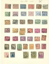 Used Egypt Collection On Blank Pages (1872-1960) - SEE!!!