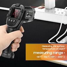 Infrared Thermometer Sovarcate Digital Ir Laser Gun High And Low Temp Measure