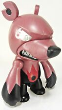 "Elementaler Series - FIRE BALL Knuckle red - KNUCKLE BEAR Qee 2.5"" keychain  NEW"